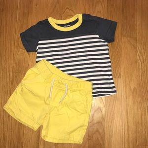 Baby Gap Boys short and shirt set
